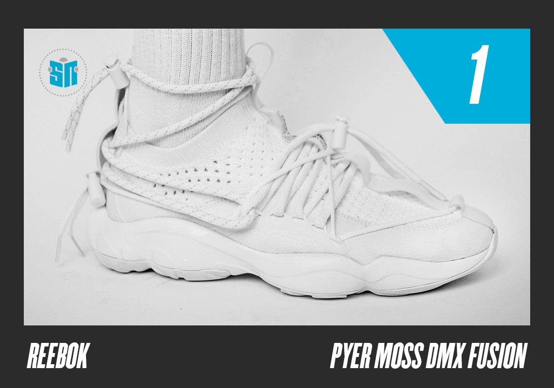 c49702788c60 1. Pyer Moss x Reebok DMX Fusion Experiment The Brooklyn-bred fashion  designer