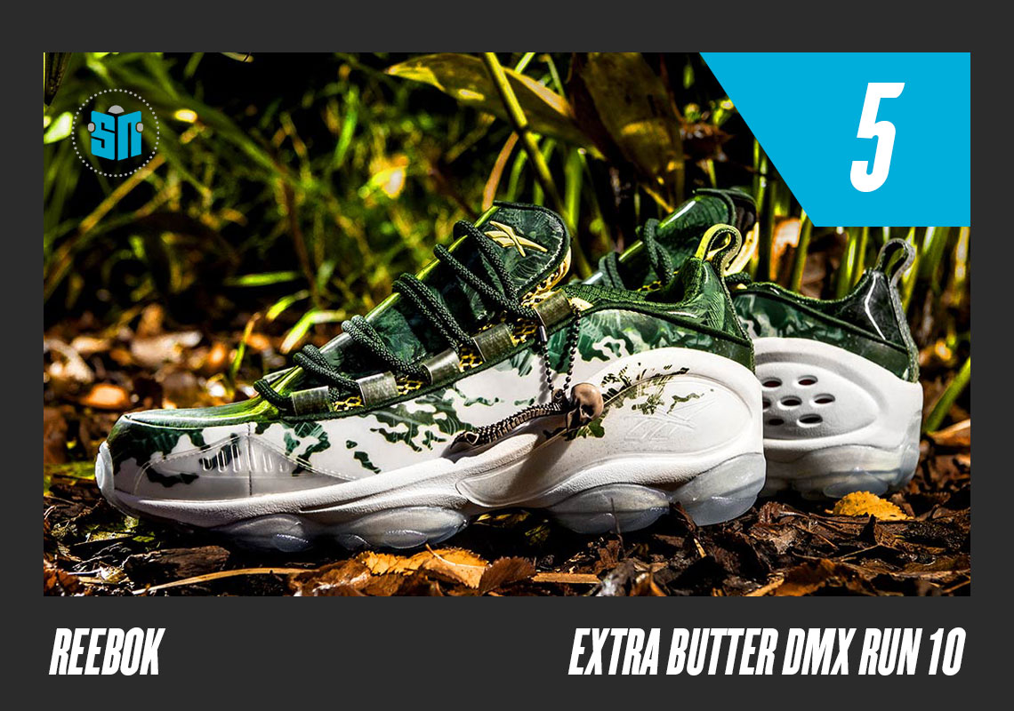 """4cc25b1c9d03 Extra Butter x Reebok DMX Run 10 """"Predator"""" Falling right in line with the  NYC-based shop s obsession with cinema"""