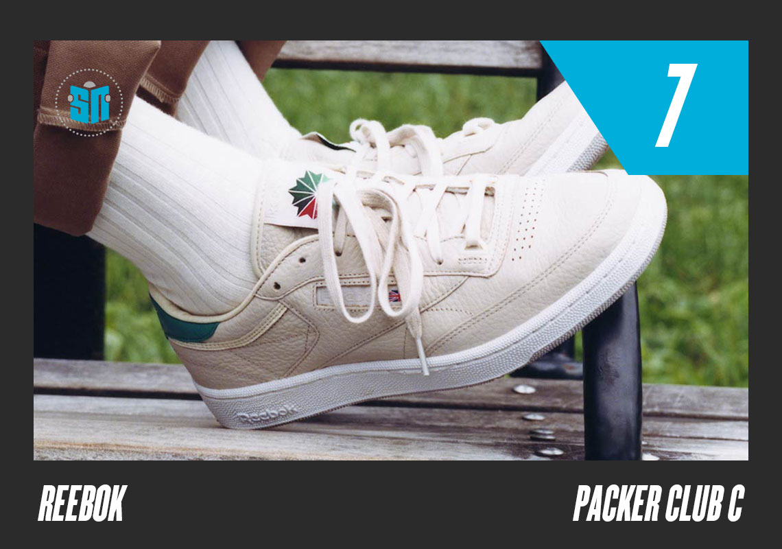 e4d5e9c08f3 Packer x Reebok Club C Meant to highlight the simplicity and wearability of  the Club C