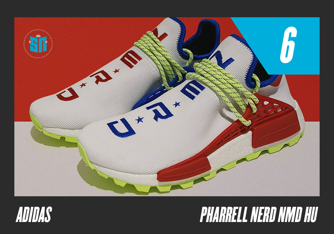 """c6041a0d6c5 Pharrell x adidas NMD Hu """"N E R D"""" Highlighting another banner year for the  partnership between Skateboard P and the Three Stripes"""