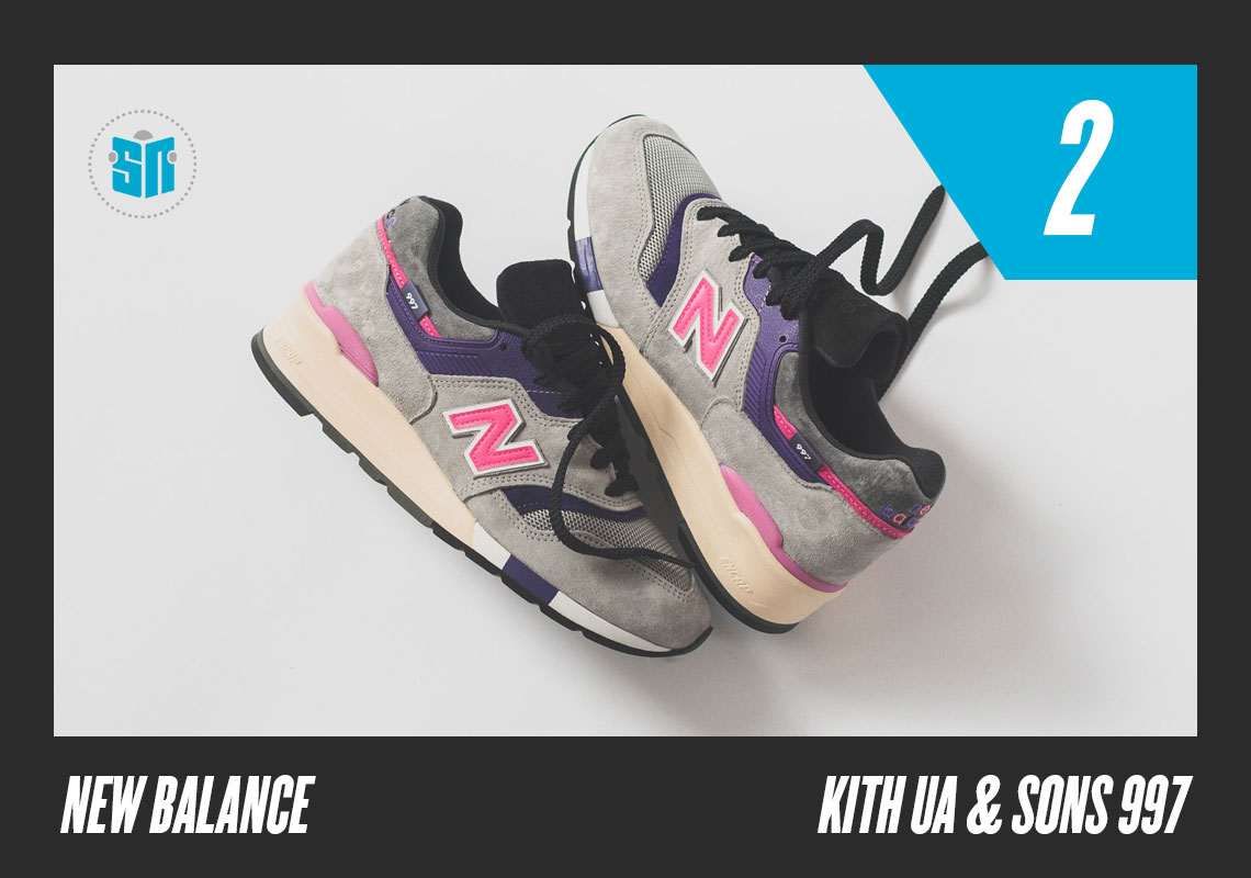 1a8d577cfd Kith x United Arrows x nonnative x New Balance 997s Easily the most  expansive collaboration the Boston-based brand has seen in quite a long  time, ...