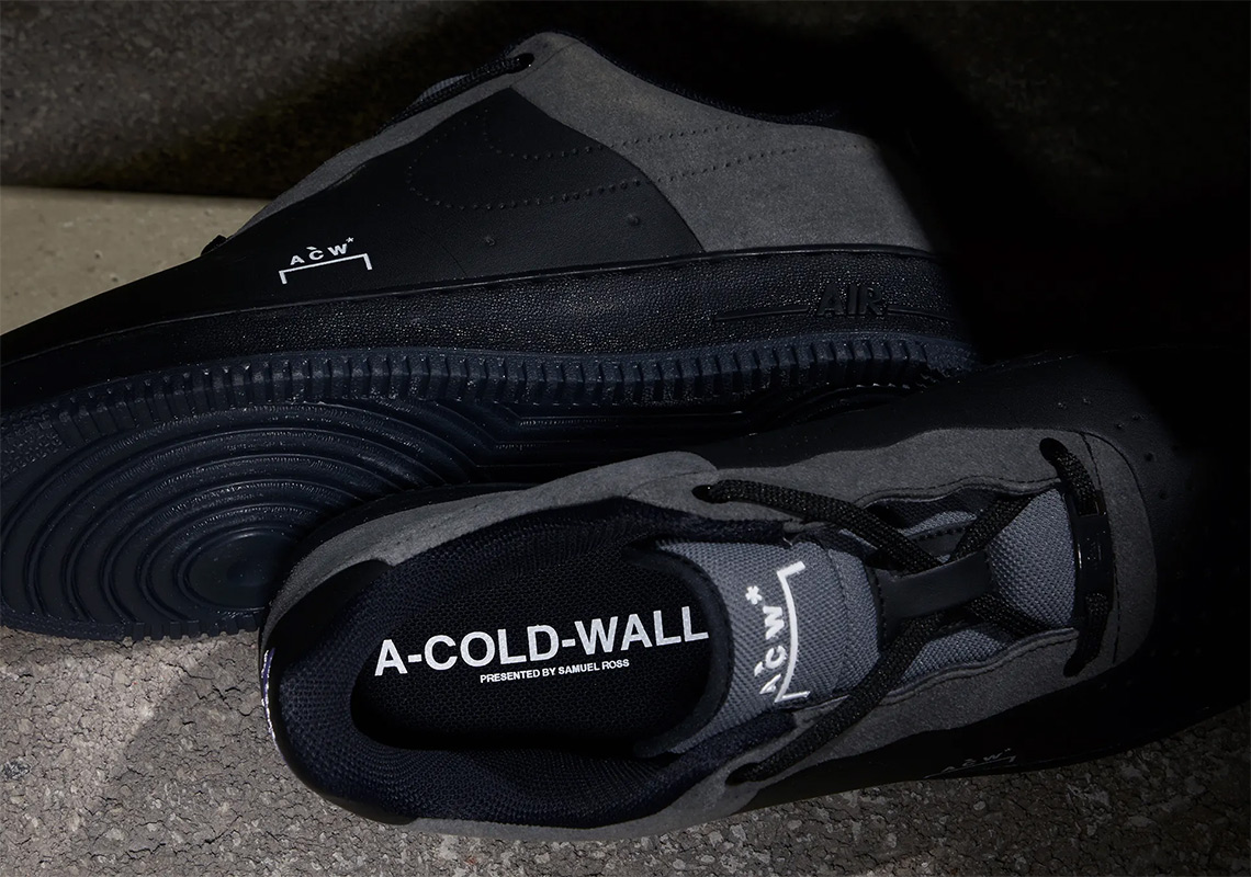 sale retailer 5b7bc 16740 ACW x Nike Air Force 1. Release Date December 21st, 2018. Release Date  January 10th, 2018 (US) 190. Color BlackDark Grey-White Style Code  BQ6924-001