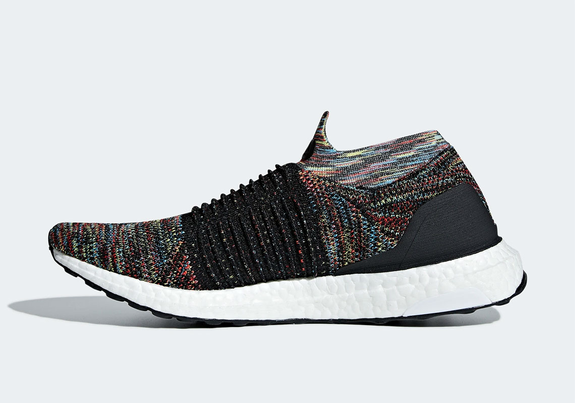 a80a8470d adidas Ultra Boost Laceless Available  200. Color  Core Black Shock  Yellow Active Red Style Code  B37687