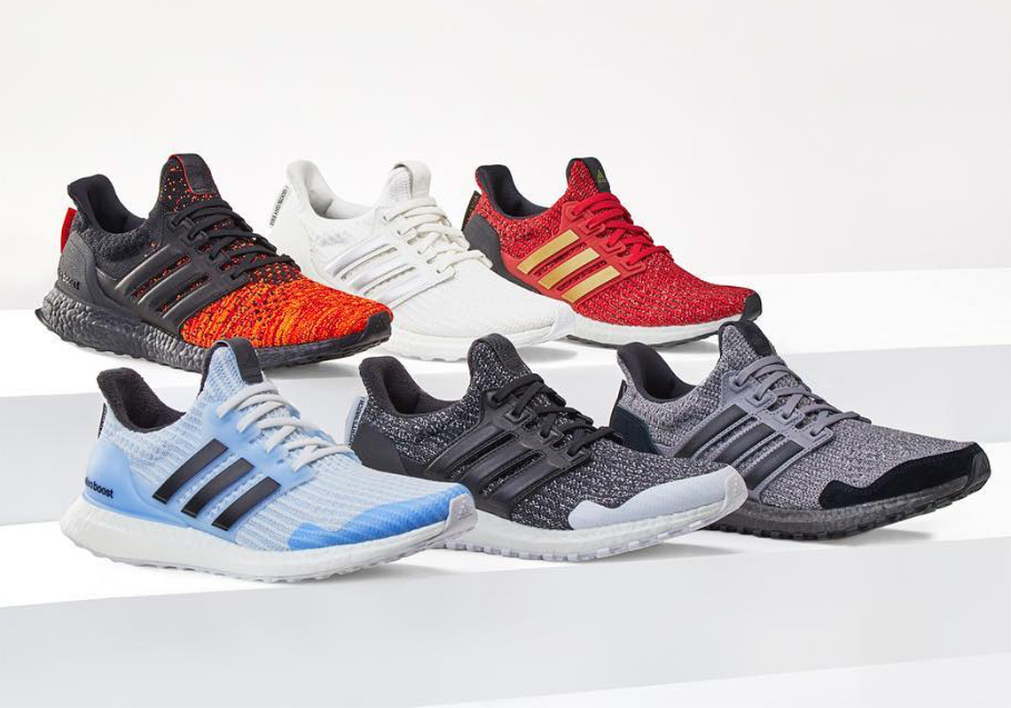 adidas x game of thrones night's watch ultraboost shoes
