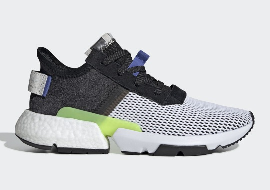 The adidas POD s3.1 Adds Mesh Uppers