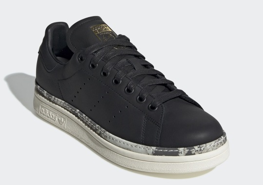 4724ce56112ebf The adidas Stan Smith Bold For Women Adds Snakeskin Details