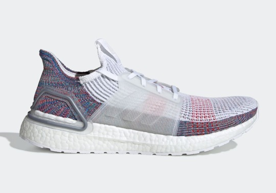 The adidas Ultra Boost 2019 Will Feature White And Multi-Color Primeknit 360