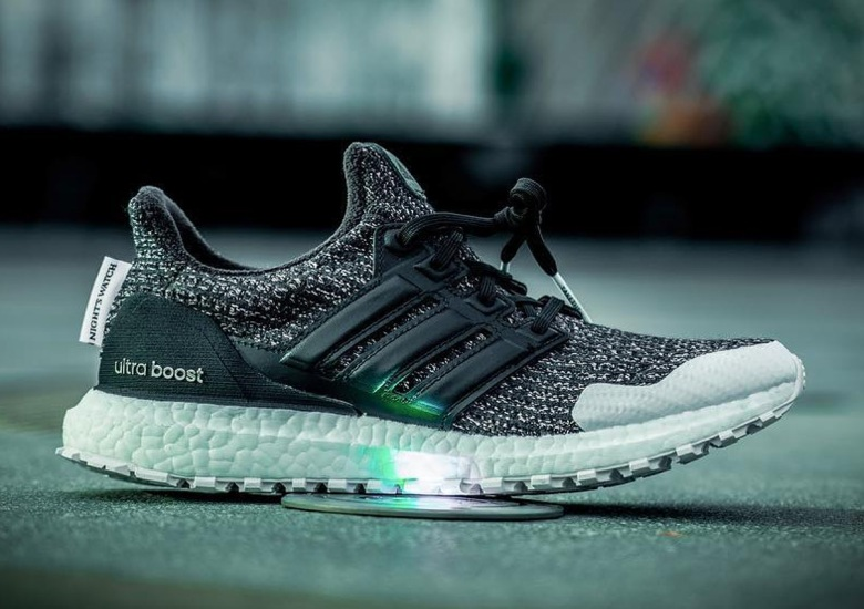 "cb30350b87a Game Of Thrones x adidas Ultra Boost ""Night s Watch"" Revealed"