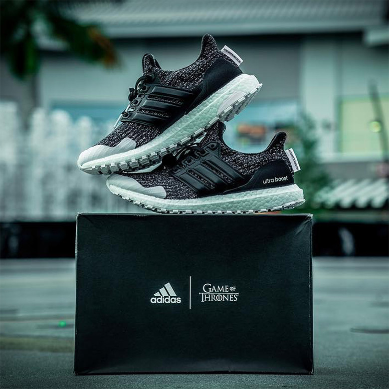 2ce3e7464fd Game Of Thrones adidas Ultra Boost Nights Watch Shoes