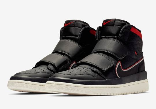The Air Jordan 1 High Double Strap Is Coming Soon In Black And Red