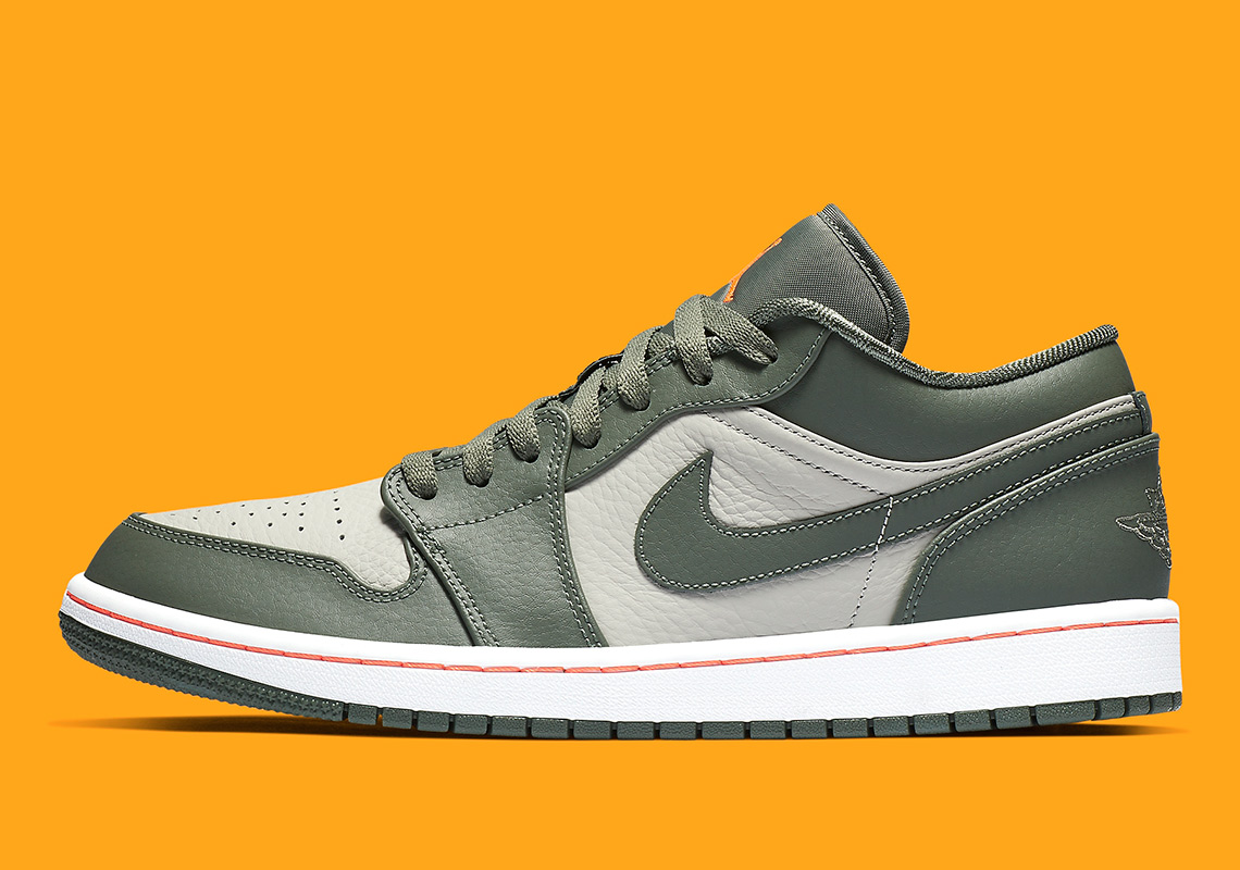 58c335eac47 Military Vibes Arrive On The Air Jordan 1 Low
