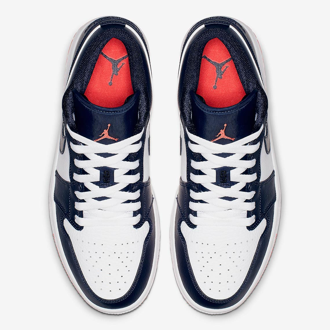 b7140e099c8 Air Jordan 1 Low  100. Color  Obsidian Ember Glow-White Style Code  553558- 481. Where to Buy. eBayAvailable Now