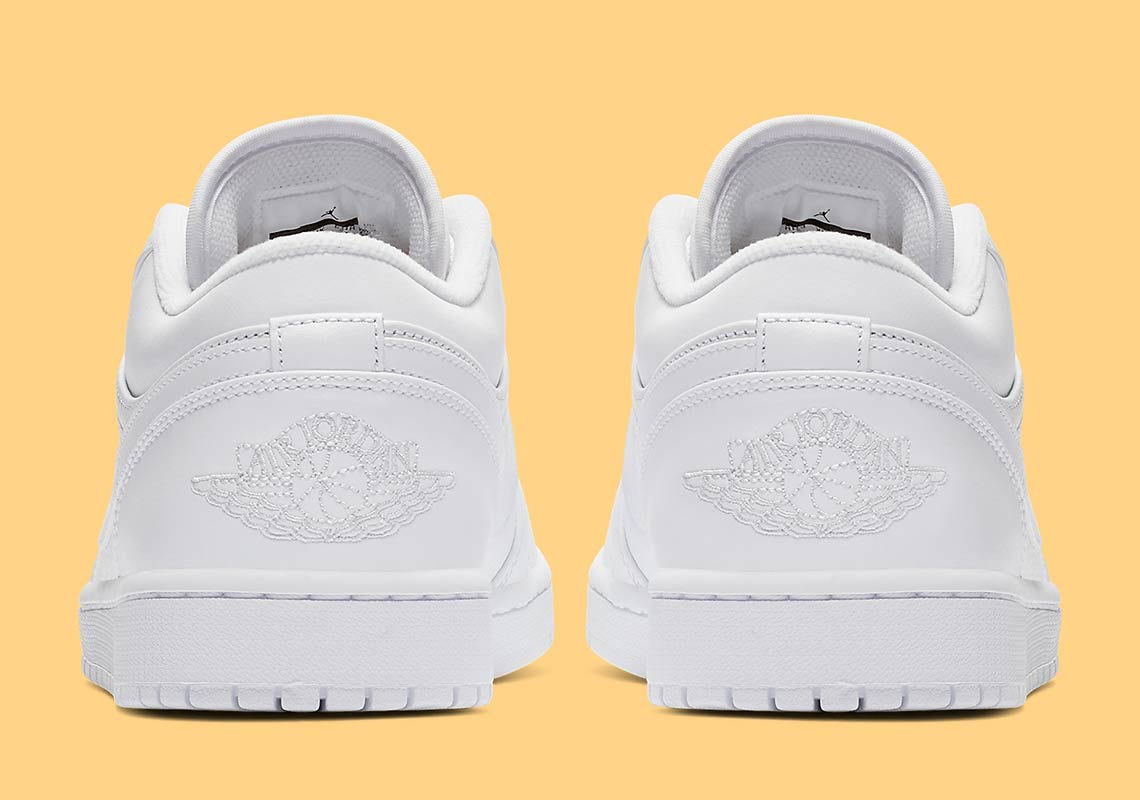 06263964c42a91 Air Jordan 1 Low  105. Color  White Pure Platinum Style Code  553558-111.  Advertisement. Advertisement