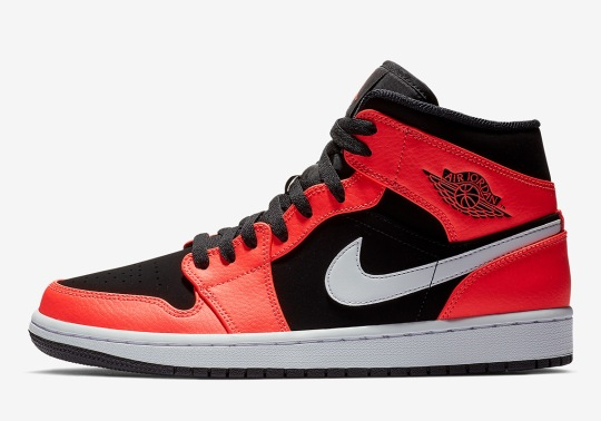 "The Air Jordan 1 Mid ""Infrared 23"" Is Available Now"
