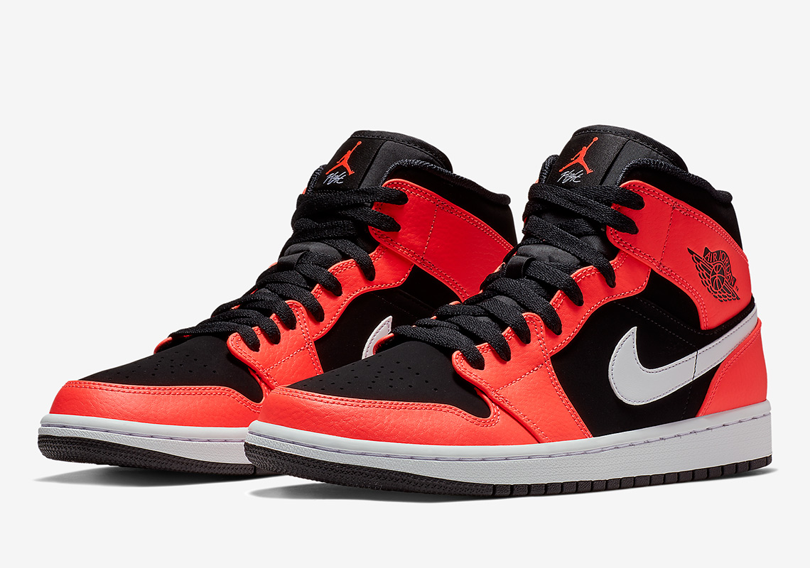 Air Jordan 1 Mid  110. Color  Black White Infrared 23. Style Code   554724-061. Where to Buy. Nike Available 8f7124d6638