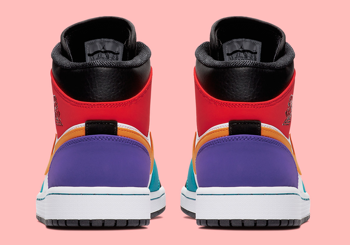 "First Look At The Air Jordan 1 Mid ""Multi-Color""  4c421a86b"