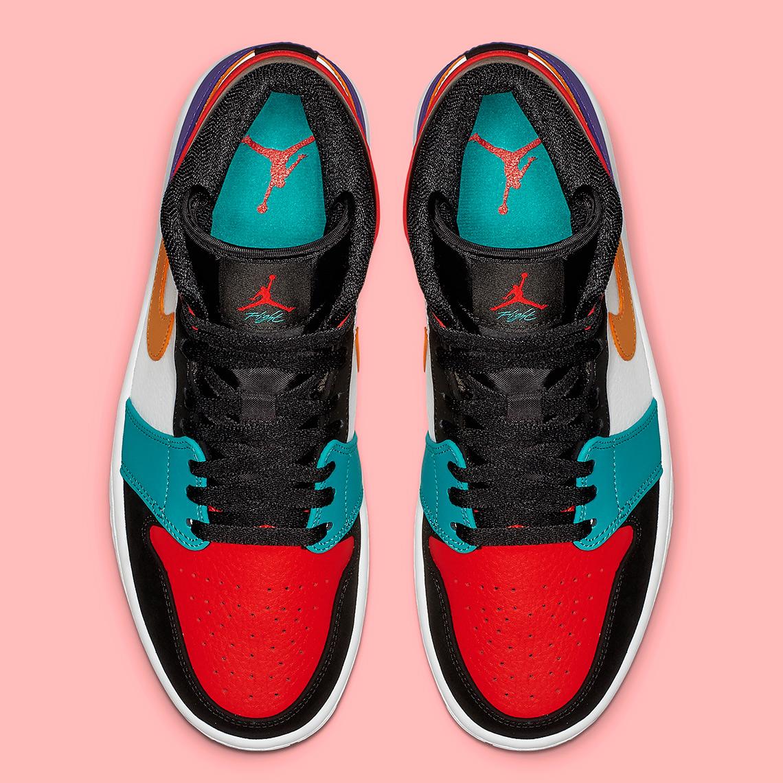 f841d5cd237d Air Jordan 1 Mid Multi-Color 554724-125