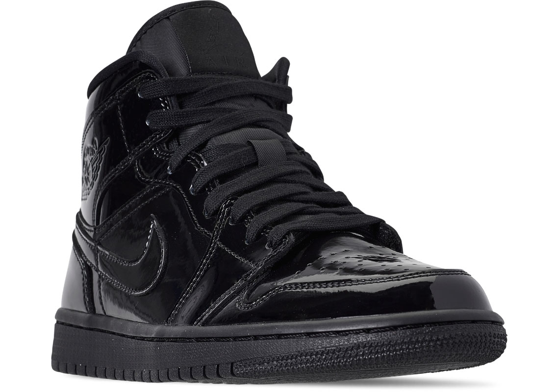 9a1a8232a74b84 Air Jordan 1 Mid Black Patent Leather Buying Guide