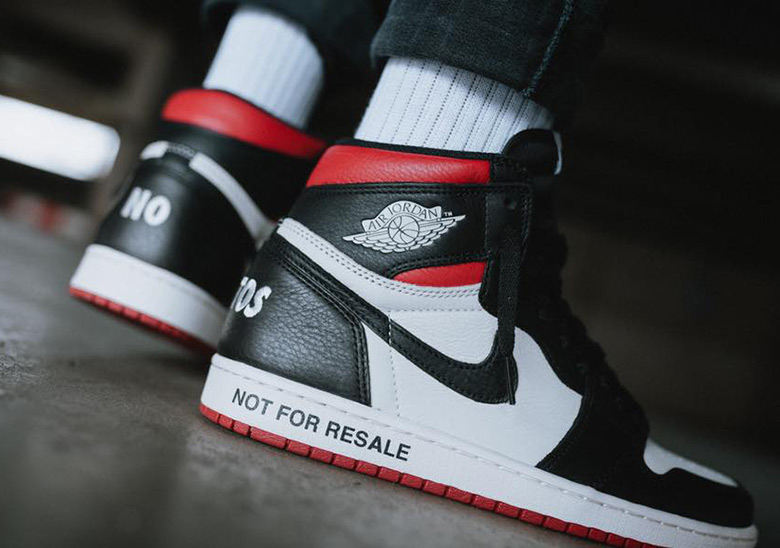 "f854cb5de952 The Air Jordan 1 ""Not For Resale"" Is Releasing In Europe"