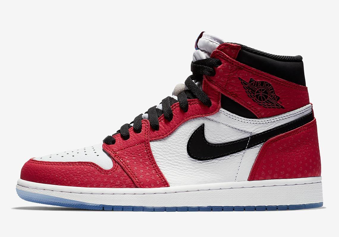 1a007888c3c Jordan 1 Spider-Man 575441-602 Release Date + Info | SneakerNews.com
