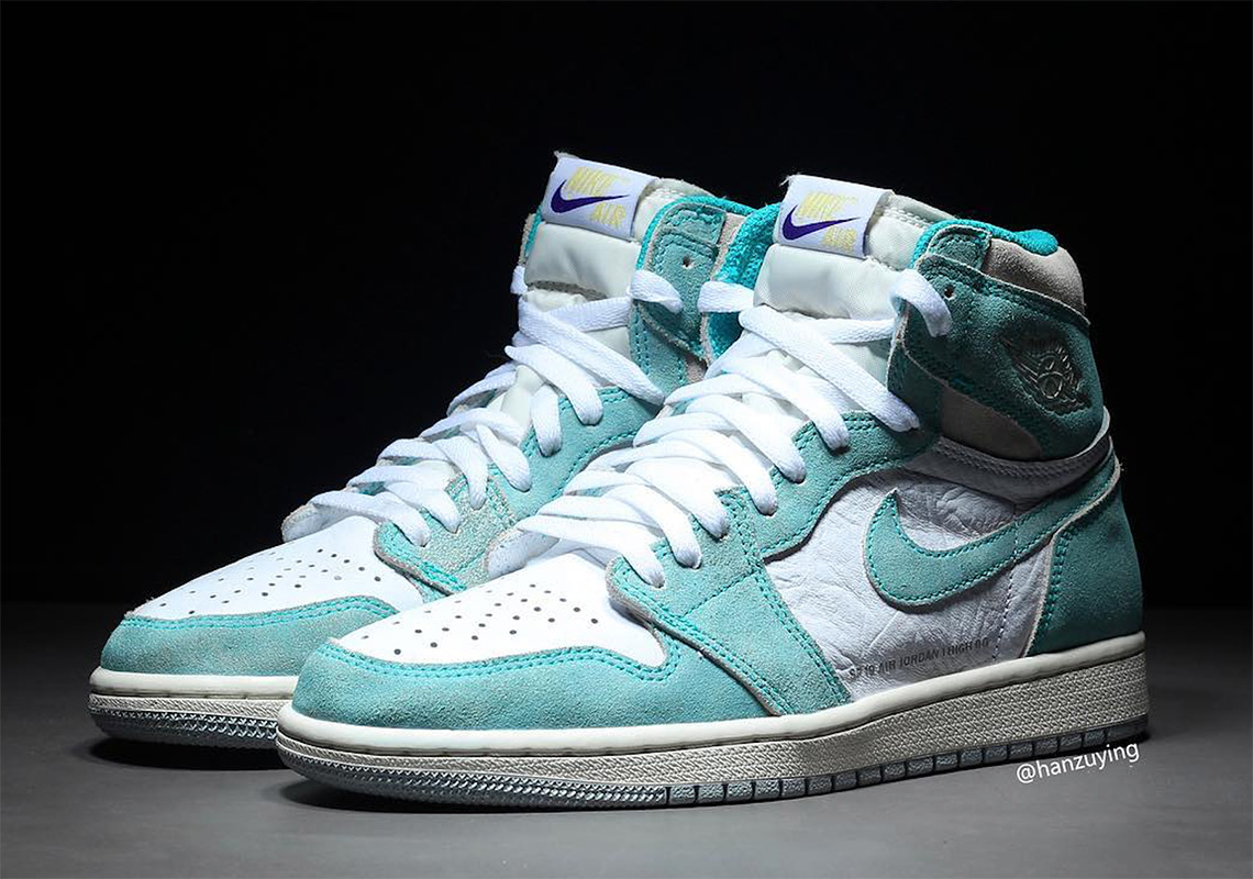 low priced d10a4 bf92f Air Jordan 1 Turbo Green 555088-311 Release Date   SneakerNews.com