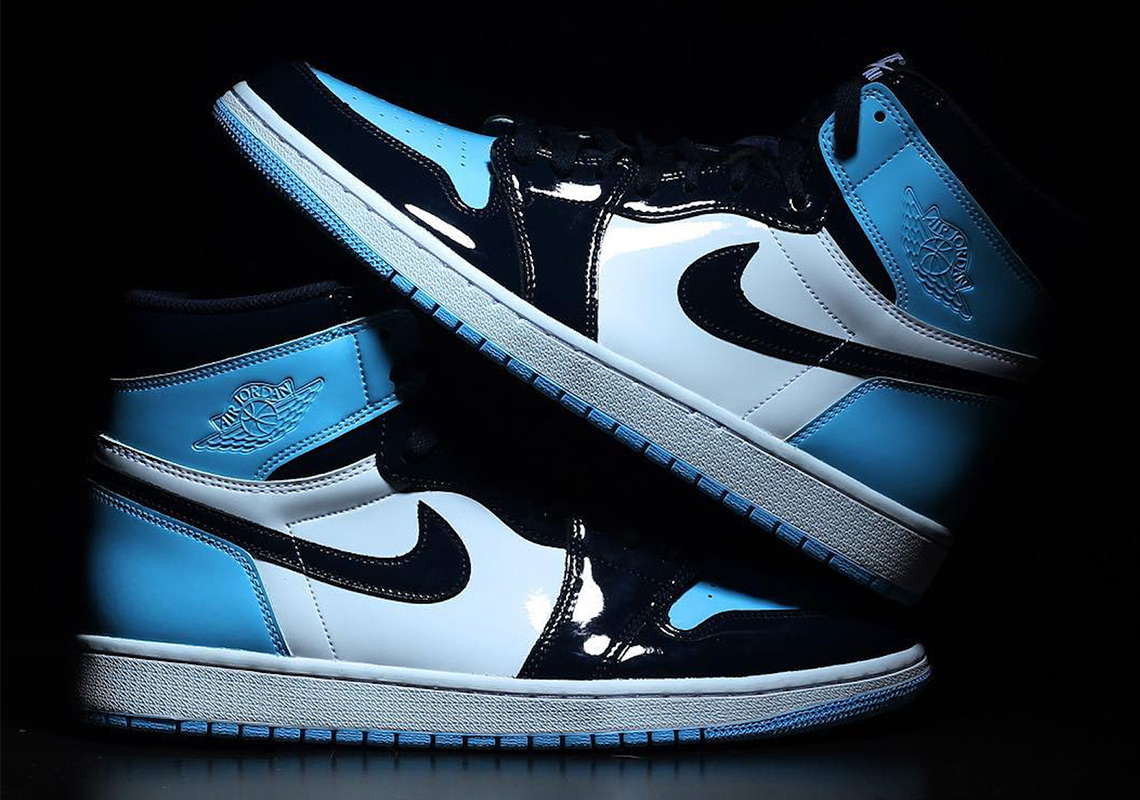 5dca25eeea8 Air Jordan 1 UNC Patent Leather CD0461-401 Release Info ...