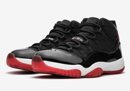 "Air Jordan 11 ""Bred"" Releasing During Holiday 2019"