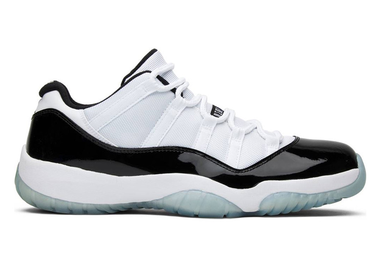 85c9d274981 In May of 2014, Jordan Brand finally released its first-ever retail version of  the Concords cut in a lower height.