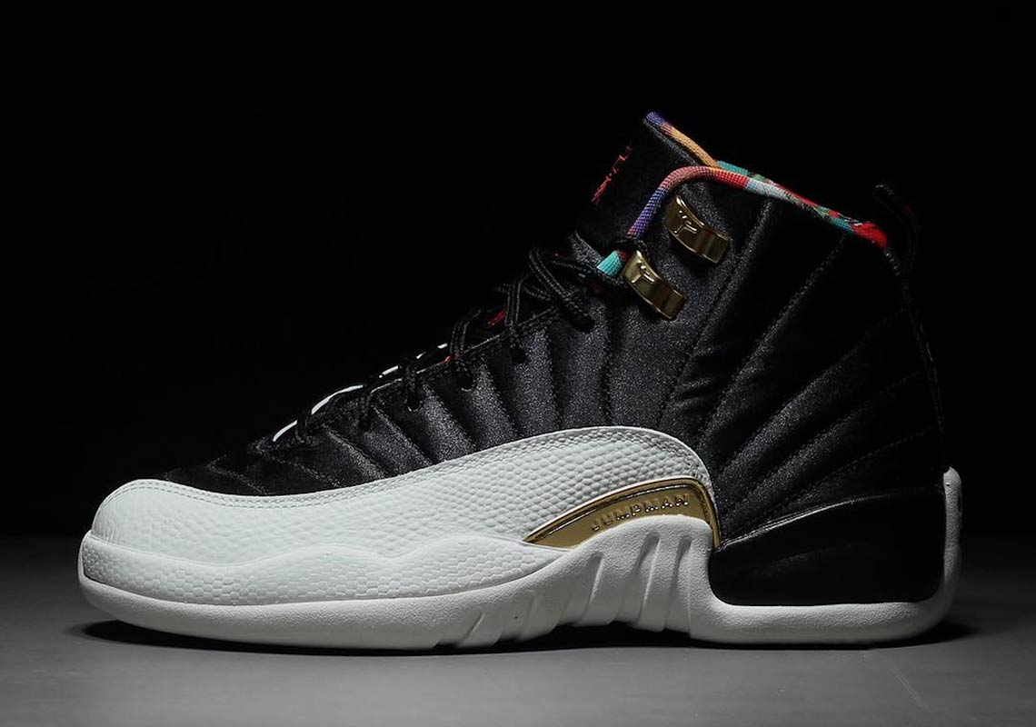 "a2cc17e5db0e Detailed Look At The Air Jordan 12 ""Chinese New Year"" For 2019"