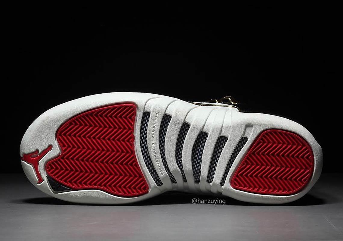 premium selection 6d4e8 ea2c7 Jordan 12 Chinese New Year CI2977-006 Info | SneakerNews.com