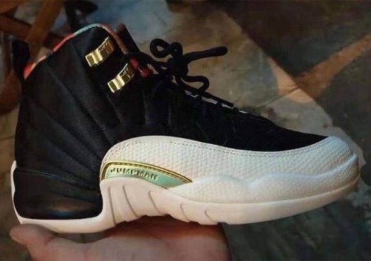 """2b4d97d81683 First Look At The Air Jordan 12 """"Chinese New Year"""" ..."""