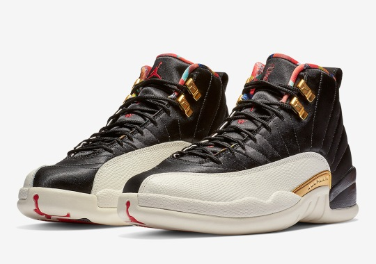 "Official Images Of The Air Jordan 12 ""Chinese New Year"""