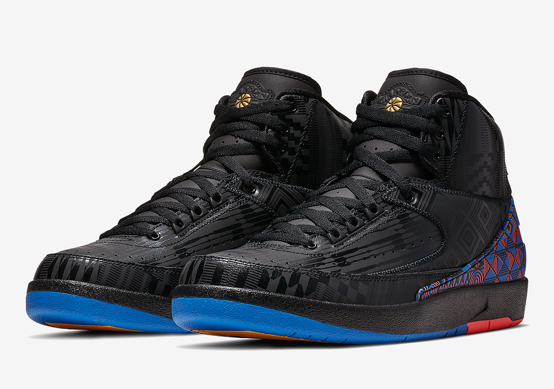 "check out 10eb3 57864 Air Jordan 2 ""BHM""More Info  Air Jordan 2 BHM Release Date  February 2,  2019 190Color  Black Metallic GoldStyle Code  BQ7618-007"