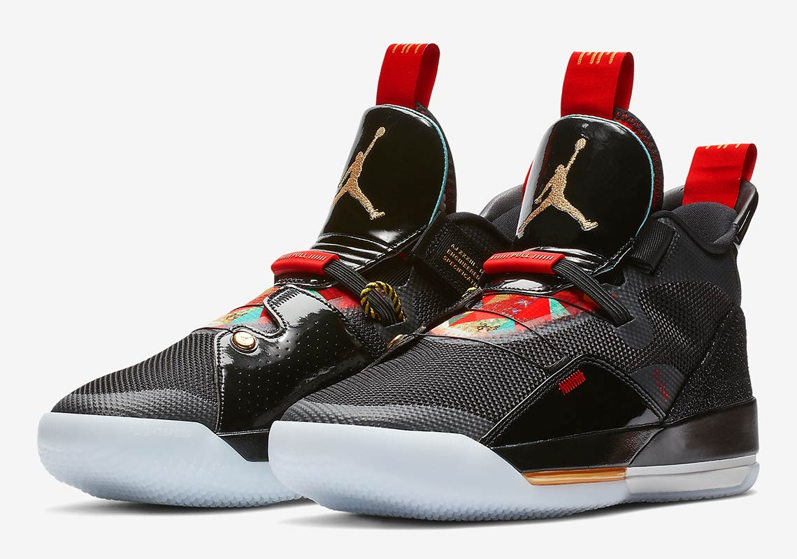 "newest 2a128 a1c4d Air Jordan 33 ""Chinese New Year"" More Info  Air Jordan 33 Chinese New Year  Release Date  February 5th, 2019"