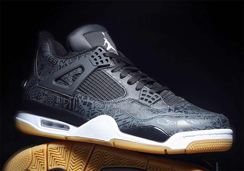sports shoes 9eb93 9a33c Air Jordan 4 Laser Gum 2019 Release Info   SneakerNews.com