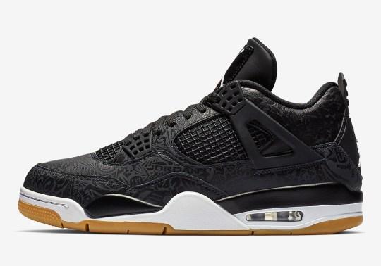 "Where To Buy The Air Jordan 4 ""Black Laser"""