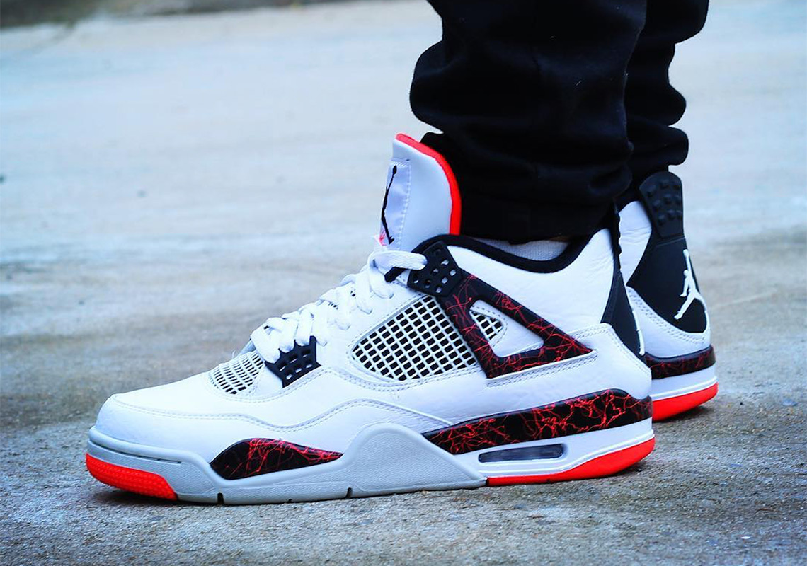 Air Jordan 4 Hot Lava 308497-116   SneakerNews.com