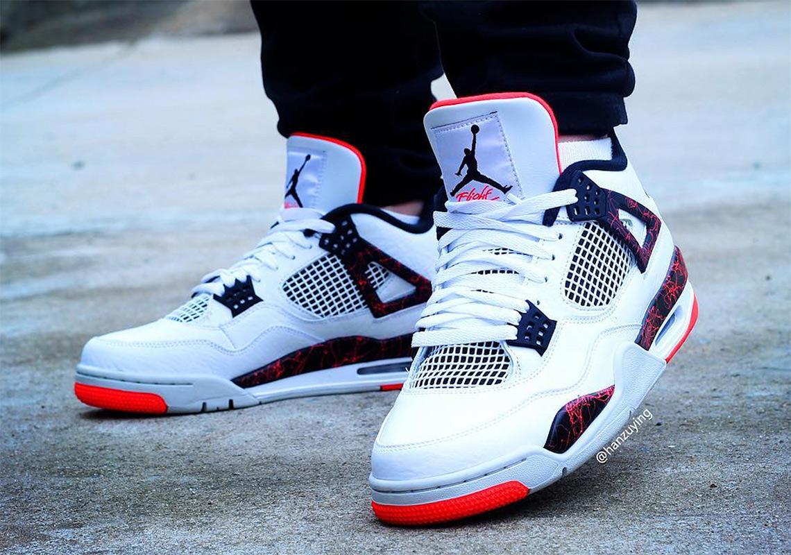 """44a02206c778c8 Air Jordan 4 """"Hot Lava"""" Release Date  March 2nd"""
