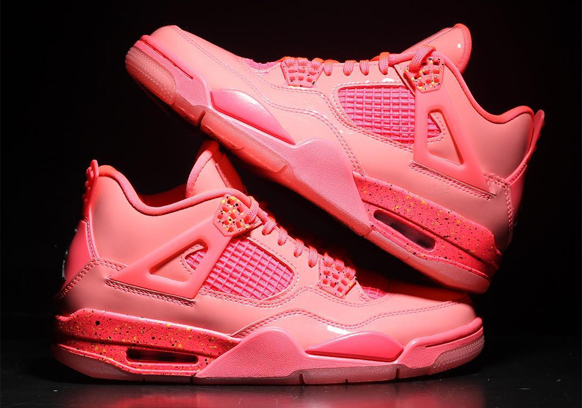 """first rate 59817 d828d Detailed Look At The Air Jordan 4 """"Hot Punch"""""""