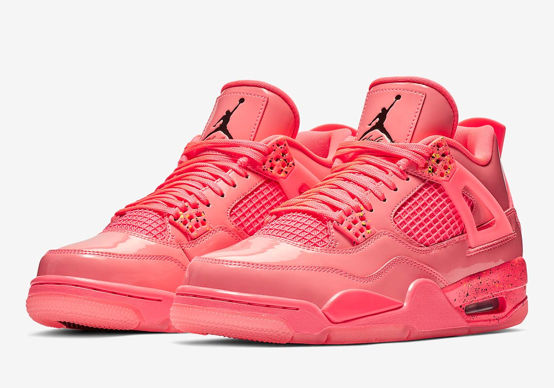 "db84e255ff16 Air Jordan 4 NRG Wmns ""Hot Punch"" More Info  Air Jordan 4 Hot Punch Release  Date  January 12"