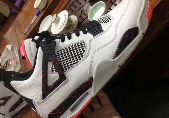 "Air Jordan 4 ""Light Crimson"" Is Releasing In March 2019"