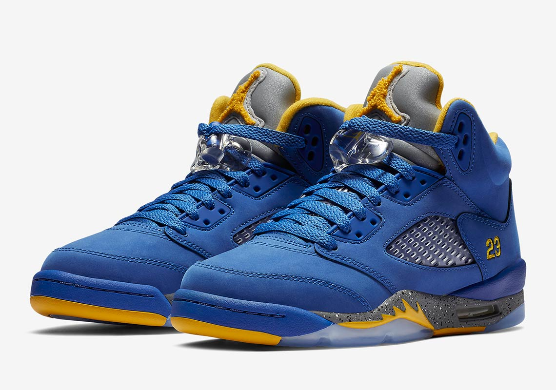 "cec4f9dfb716 Air Jordan 5 Retro+ JSP ""Laney"" More Info  Air Jordan 5 Laney Release Date   February 2"
