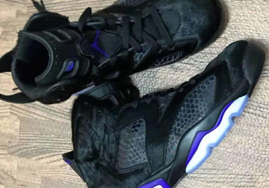 Air Jordan 6 With Cow Fur And Snakeskin To Release In January