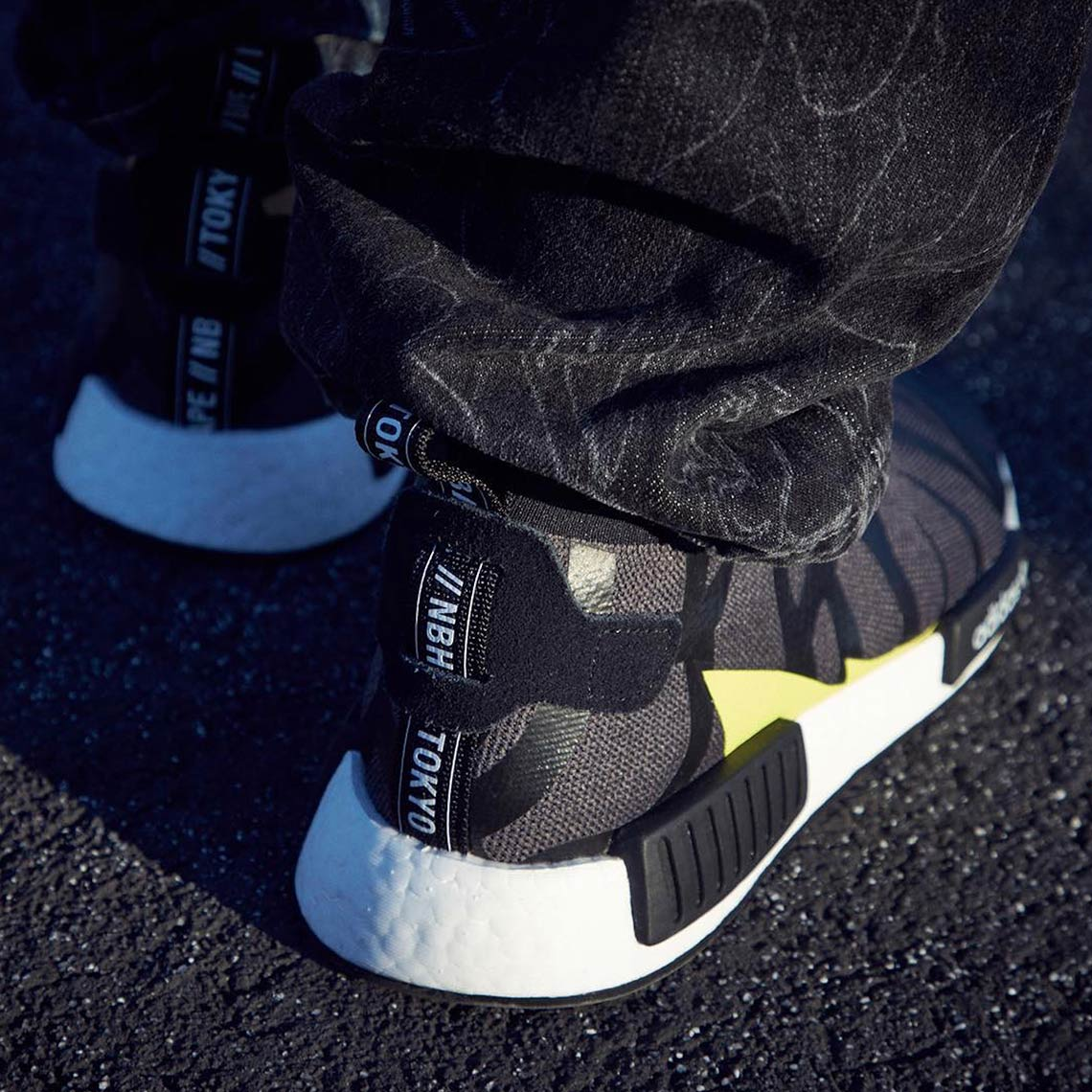 adidas x bape x neighborhood nmd