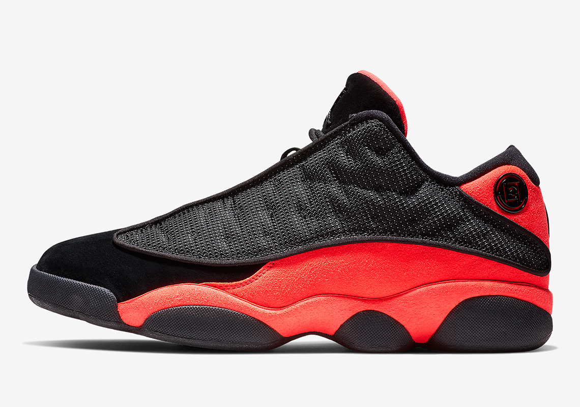 on sale 1462a f1c0a CLOT Air Jordan 13 Low Infrared First Look + Info   SneakerNews.com