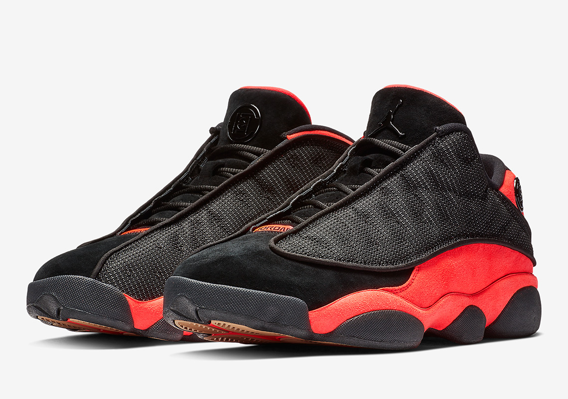 new concept 7288c 646f1 CLOT Air Jordan 13 Low Infrared First Look + Info ...