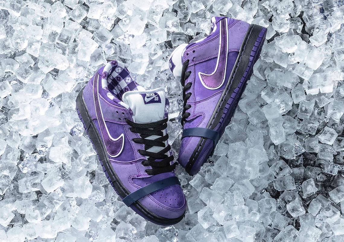 Where To Buy The CONCEPTS x Nike SB Purple Lobster Dunk c85e79433