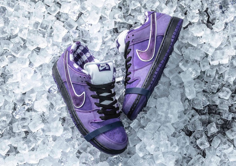Where To Buy The CONCEPTS x Nike SB Purple Lobster Dunk