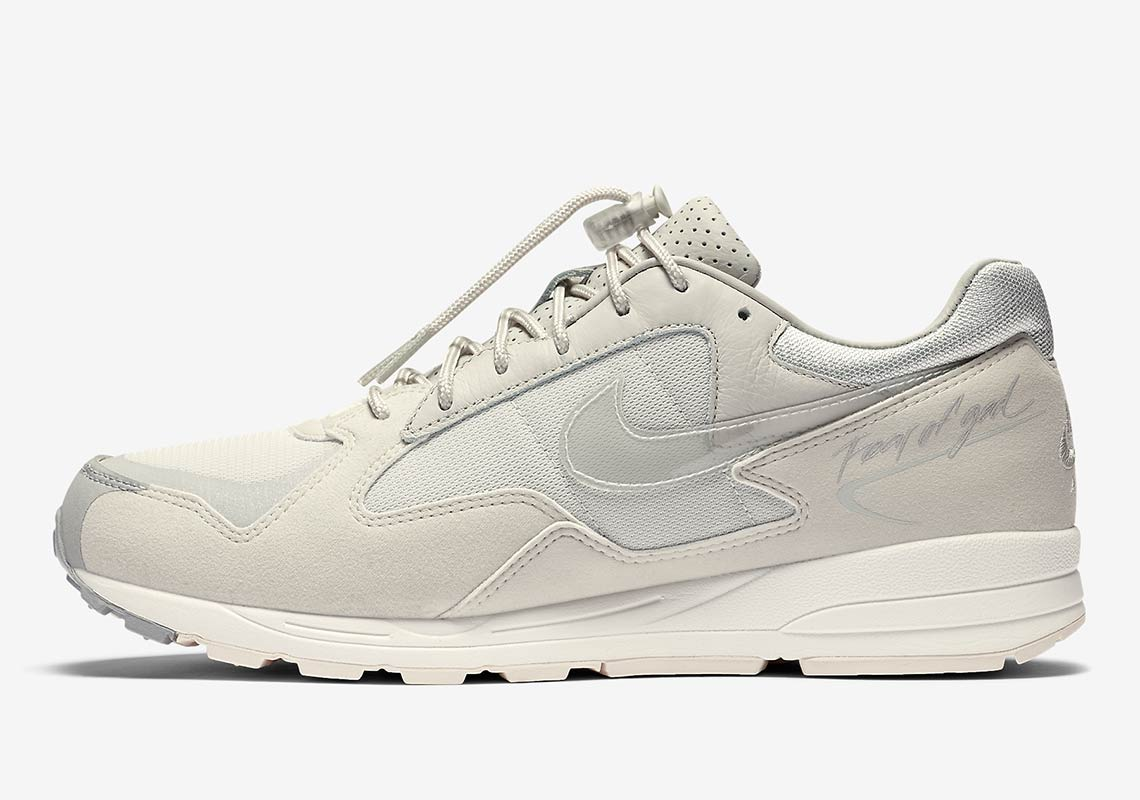281cf6d8f312 Official Images Of The Fear Of God Nike Air Skylon 2 In Light Bone