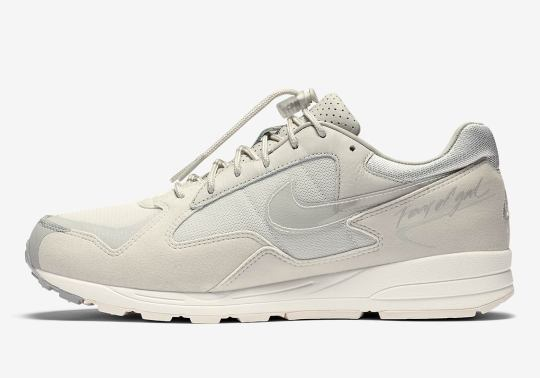 Official Images Of The Fear Of God Nike Air Skylon 2 In Light Bone